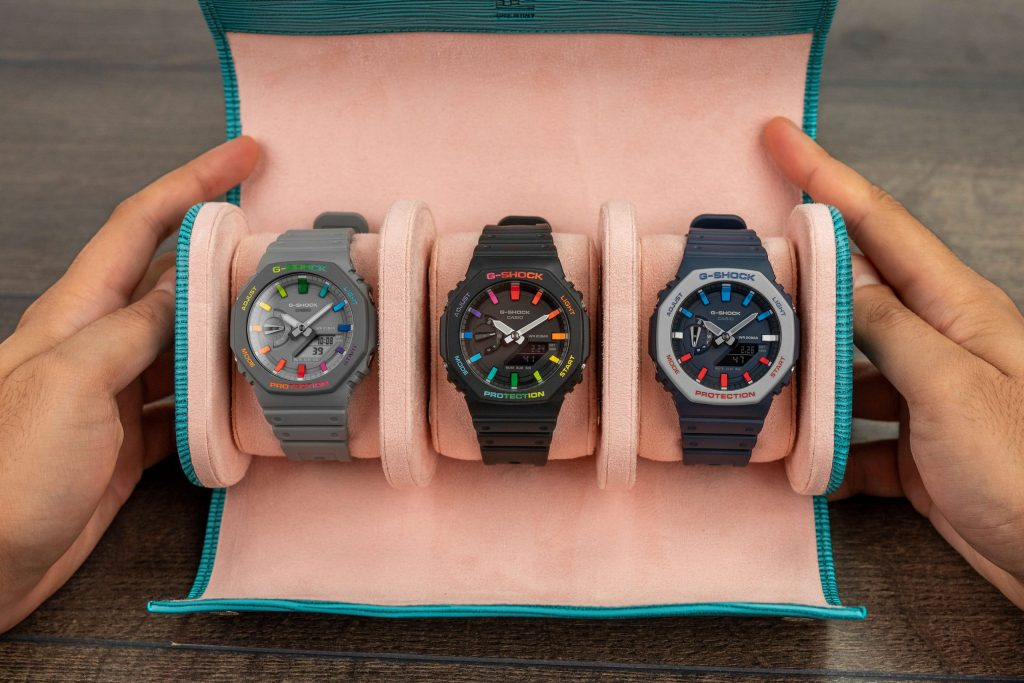 Custom Casio G-Shock 'CasiOak' Collection Hand-painted IFLW x The Dial Artist Collaboration